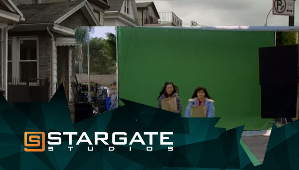 Stargate Studios Virtual Backlot Reel Effect