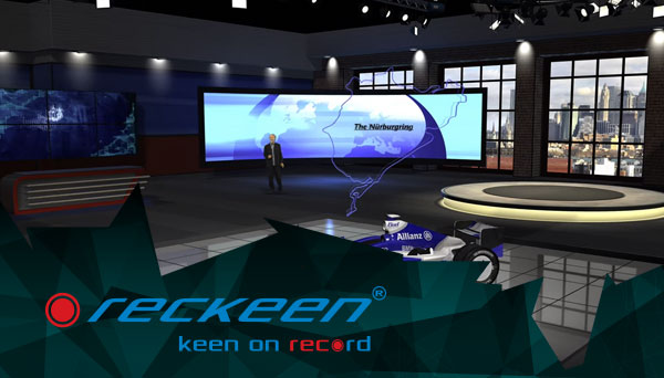 Reckeen 3D Studio 4K animations examples